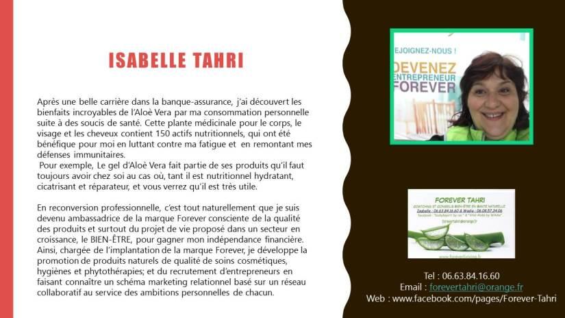 Isabelle Tahri